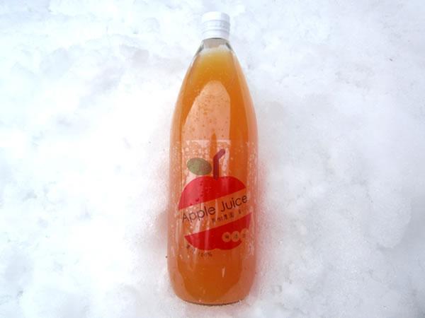 山形県産 りんごジュース にんじん入りサンふじ